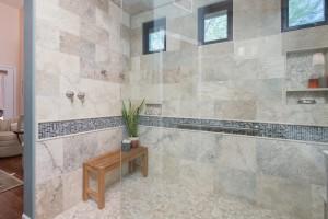 design/build bathroom remodel by hochuli design & remodeling team in phoenix, az