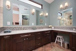 design build bathroom remodel in phoenix, az by hochuli design & remodeling team