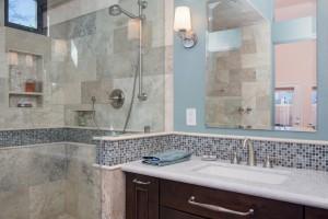 Master Bathroom remodel in Phoenix, AZ by design/build remodel contractor and interior designer