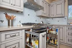 phoenix kitchen remodel contractor storage pull-outs