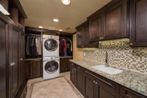 Inteior design and remodel of ahwatukee area laundry room in phoenix, az by hochuli design & remodeling team