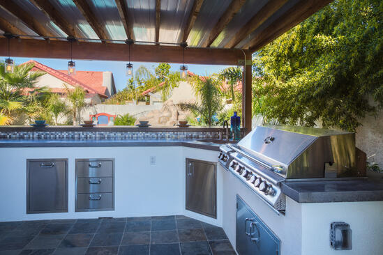 outdoor kitchen design in chandler