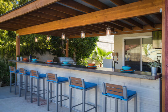 outdoor kitchen in chandler